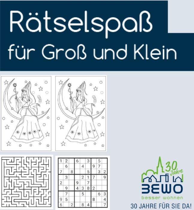 Bewo - besser Wohnen auf Rügen - BEWO-Mieter-Magazin – Rätselauflösung